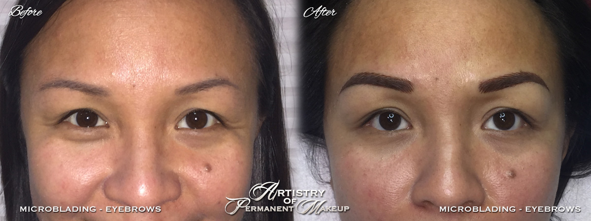 Orange County Microblading for women by Artistry Of Permanent Makeup