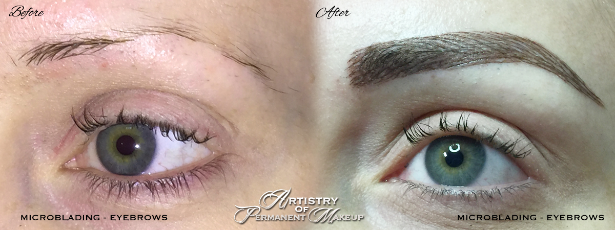 Microblading eyebrows in Mission Viejo