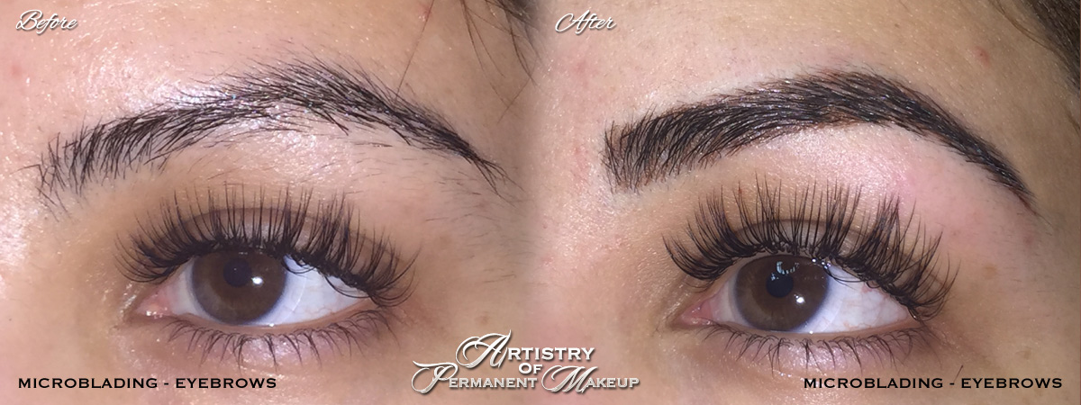 Microblading for men and women by Artistry Of Permanent Makeup Mission Viejo