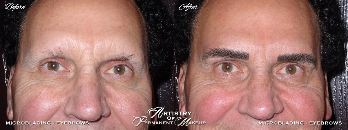 Microblading for Men in Mission Viejo by Artistry Of Permanent Makeup