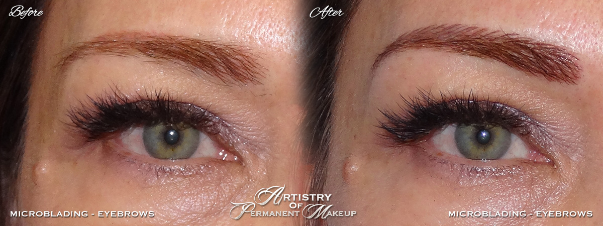 Microblading for women in Mission Viejo by Artistry Of Permanent Makeup