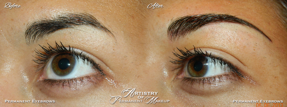 I got the most amazing permanent eyeliner done at Artistry Of Permanent Makeup in Orange County