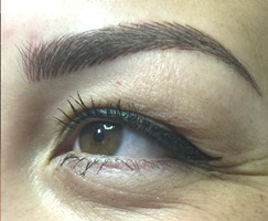 Microblading Eyebrows by Deanna Lien of Artistry Of Permanent Makeup in San Diego