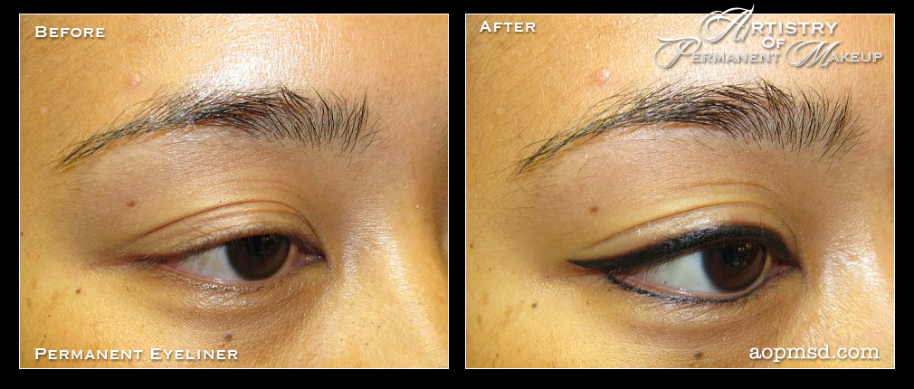 Permanent Makeup San Diego Artistry Of Permanent Makeup Before