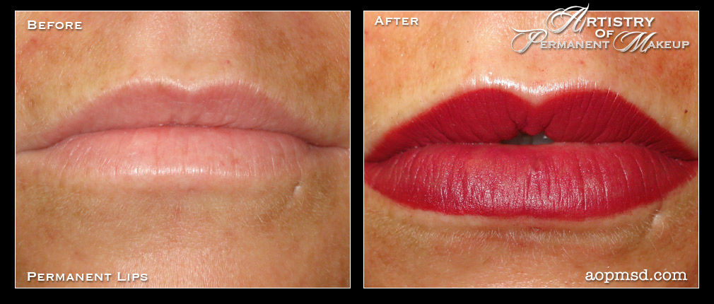 permanent makeup lips before and after mugeek vidalondon