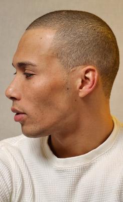 Men with Receding Hair Lines