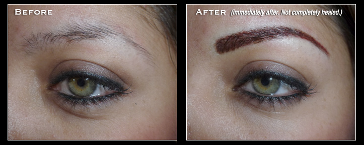 Orange County Permanent Makeup, Permanent Eyebrows, Permanent Cosmetics - Artistry Of Permanent Makeup - Mission Viejo, Aliso Viejo, Rancho Santa Margarita, Coto De Caza, Dove Canyon, Costa Mesa, Dana Point, Huntington, Beach, Irvine, Lake Forest, Laguna Beach, Laguna, Hills, Laguna Niguel, Laguna Woods, Los Alamitos, Newport Beach, Orange, Placentia, Rancho Santa Margarita, San Clemente, San Juan Capistrano, Tustin, and more. Before & After Gallery - Permanent Eyeliner.