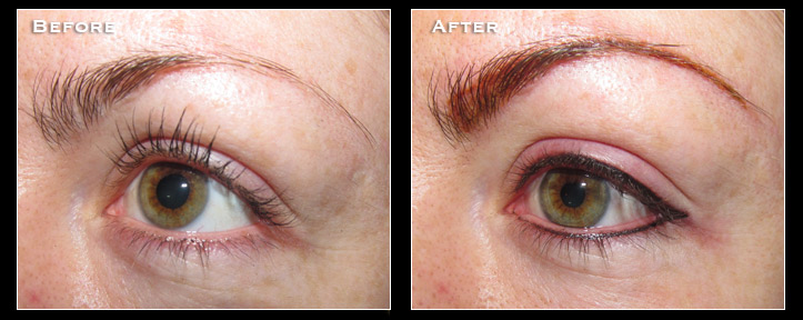 Artistry Of Permanent Makeup San Diego - Before & After Gallery - Natural Lash Enhancement
